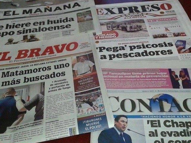 Глава од човек оставена пред редакцијата на весник од Мексико