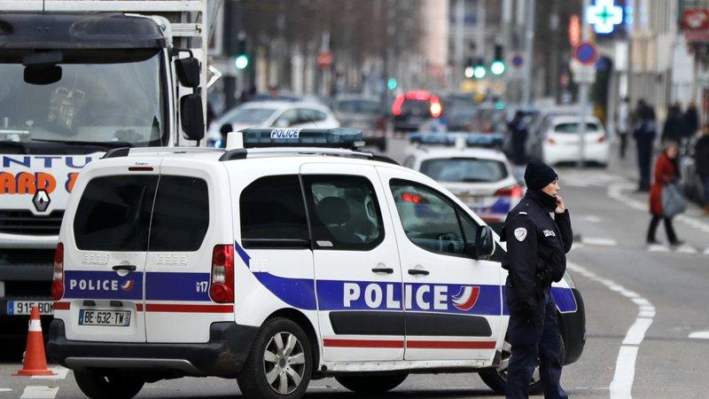 Акција на француската полиција во Стразбур