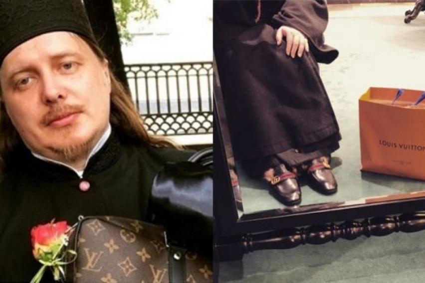 Руски свештеник сака луксуз: Чанта од 3.400 и часовник од 30.000 долари (ФОТО)