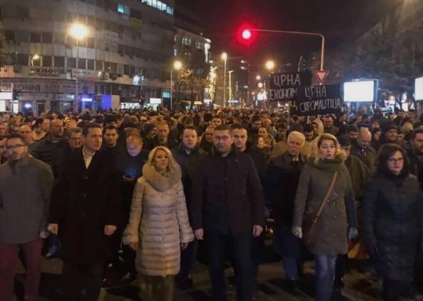Власта не нуди услови за живот: Денеска протестен марш на ВМРО-ДПМНЕ
