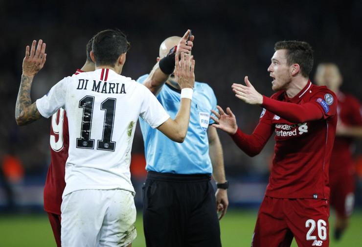 УЕФА покрена истрага поради случувањата на мечот ПСЖ-Ливерпул