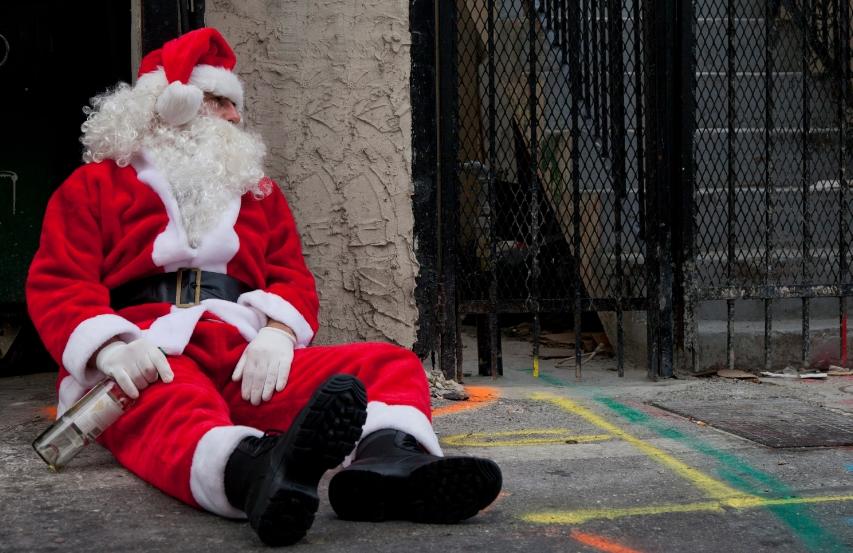 Дедо Мраз уапсен за убиство на своите две деца, злосторство кое го потресе светот