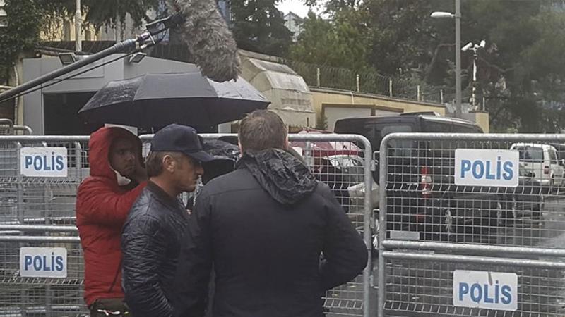 ВИДЕО: Шон Пен снима документарец за убиениот новинар Кашоги