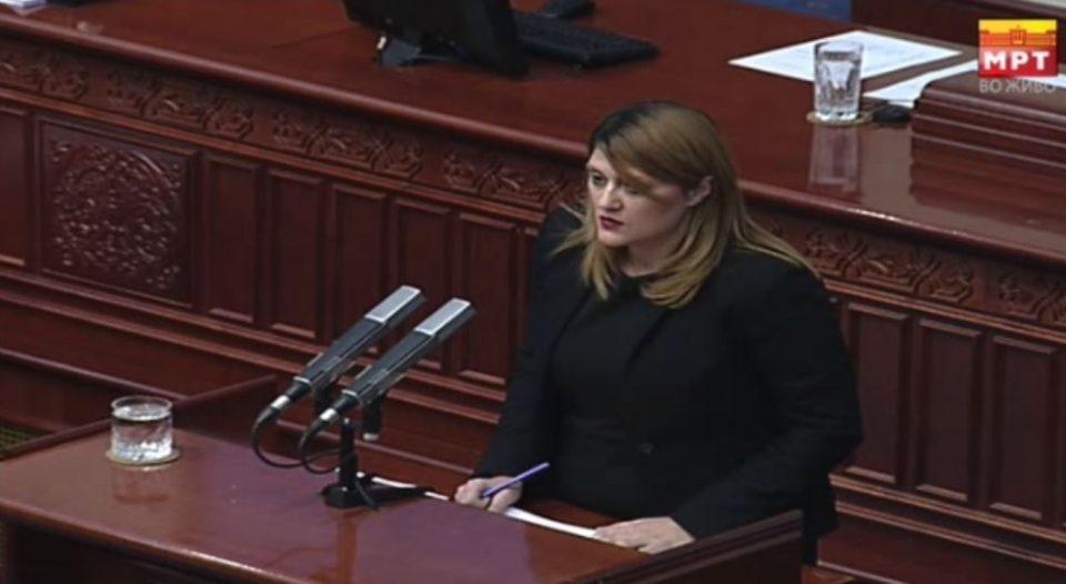 Стаменковска-Стојковски:СДСМ не дискутираше да се избере јавен обвинител по стандардите, туку само по име Катица Јанева