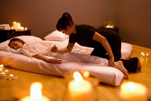 Тајландската масажа го отстранува стресот