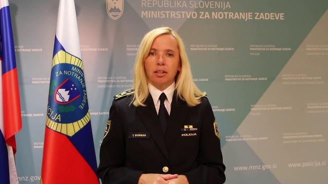 Татјана Бобнар, прва жена на функцијата шеф на словенечката полицијата