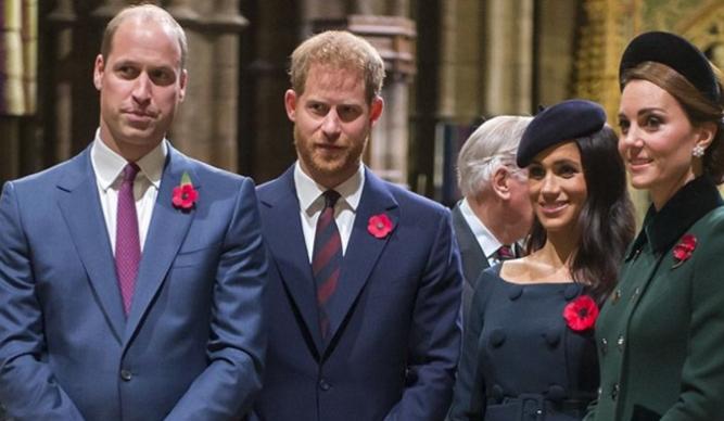 """Откриено е зошто принцовите Вилијам и Хари се во лоши односи, """"виновна"""" е една од сопругите"""