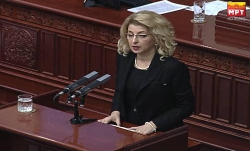 Ласовска: ВМРО-ДПМНЕ успеа да спречи носење на штетен закон повторно со злоупотреба на Европското знаменце