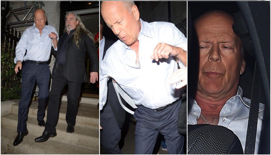 Пијаниот Брус Вилис телохранителите го изнесоа од лондонски клуб (ФОТО)