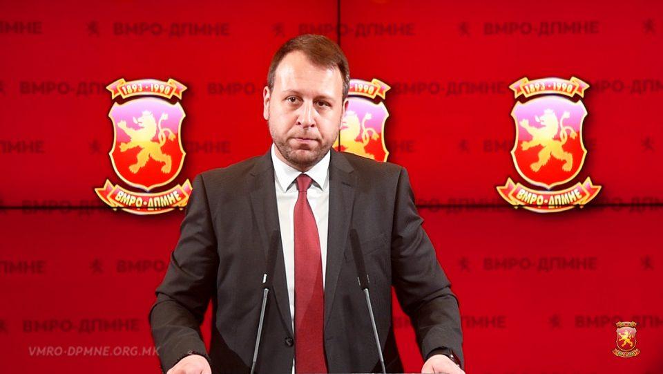 Јанушев: Случајот Талир е директен доказ дека СЈО и Кацарска судството се само неми извршители на наредбите на Заев и СДСМ