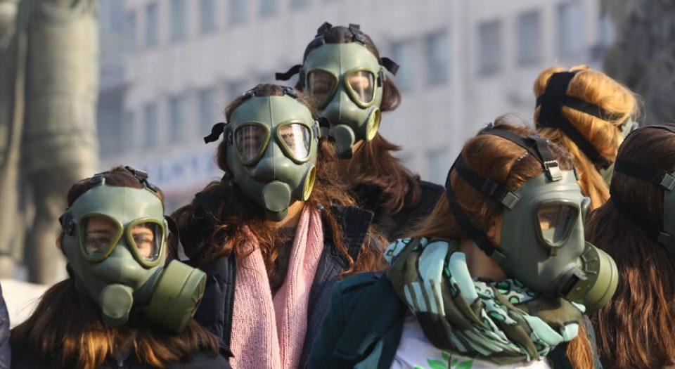 Воздухот во Скопје загаден четири пати над дозволеното