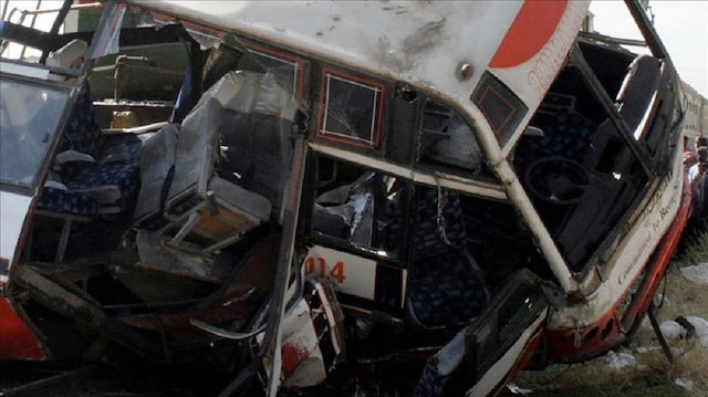 Во Етиопија 17 лица загинаа откако автобус падна во провалија