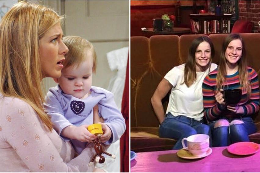 """Двете беа бебето Ема во """"Пријатели"""": Како изгледаат близначките кои ја толкуваа улогата на ќерката на Рос и Рејчел? (ФОТО)"""