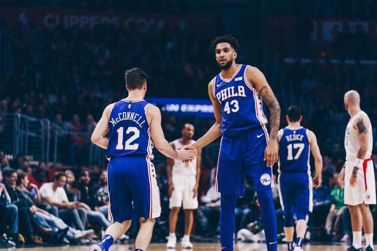 Филаделфија го победи Феникс во најефикасниот натпревар одигран ноќеска во НБА лигата