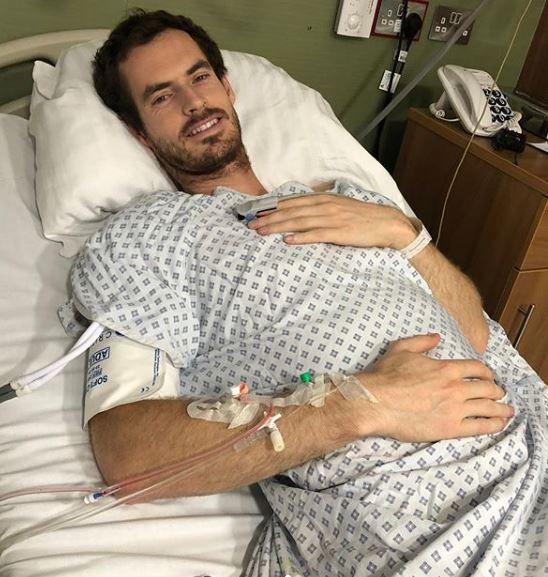 Мареј сакаше да сподели со фановите дека е добро по операцијата, но случајно го објави неговиот полов орган (ФОТО)