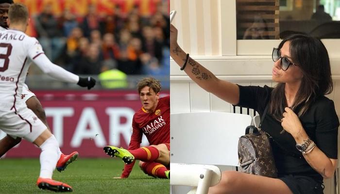 Мајката на новото фудбалско чудо на Рома е вистинска секс бомба- Лудува по Тоти и обожава да се фотографира во бикини (ФОТО)