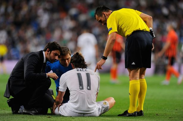 Бејл со 22 повреда во дресот на Реал