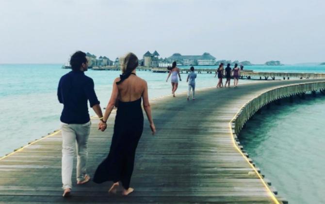 Славната актерка на својот меден месец си го однесе и поранешниот сопруг