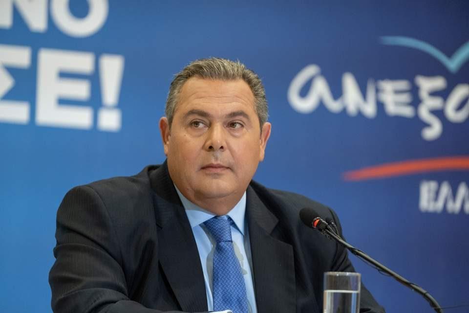 Панос Каменос ја напушта грчката Влада