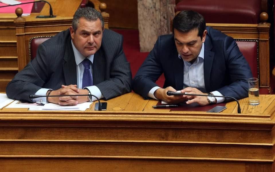 Средба Ципрас-Каменос за иднината на грчката Влада