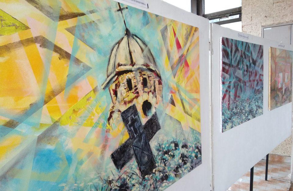 """Дела од ликовната колонија """"Карпино 2018"""" на изложба во Илинден"""