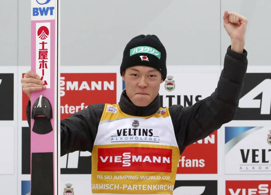 Трета победа за Кобајаши, славеше и во Инсбрук