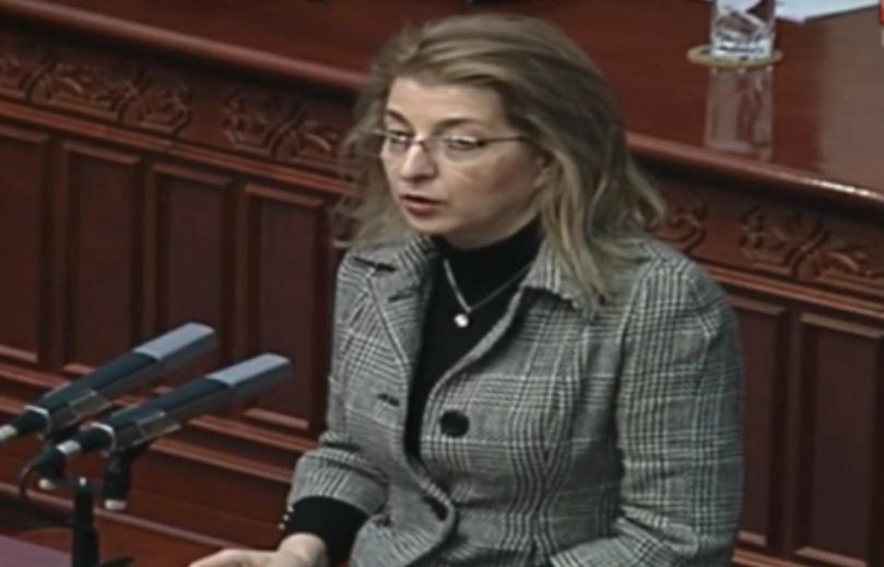 Ласовска: Стана пракса веќе европското знаменце да се става на закони кои што се планираат да се носат во една недемократска атмосфера
