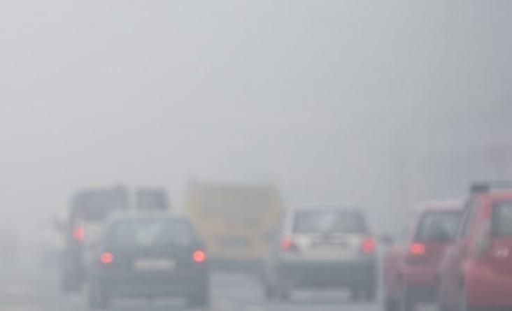 Внимателно возење низ котлините, речните долини и клисурите поради појава на магла