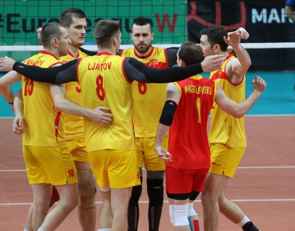 Македонските одбојкари со оптимизам патуваат во Украина