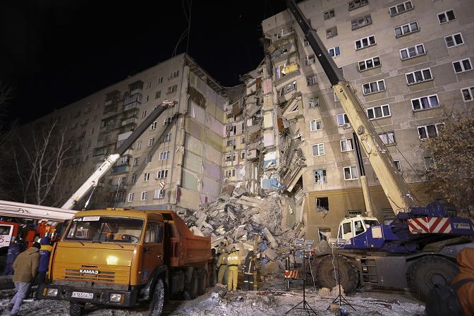 Уште три тела откриени под урнатините, се зголемува бројот на жртви во Магнитогорск