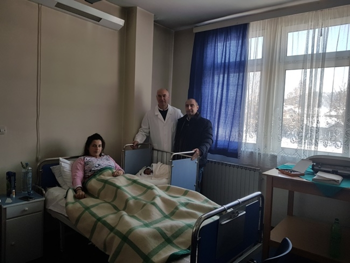 На Бадник родено првото бебе во 2019 во Берово