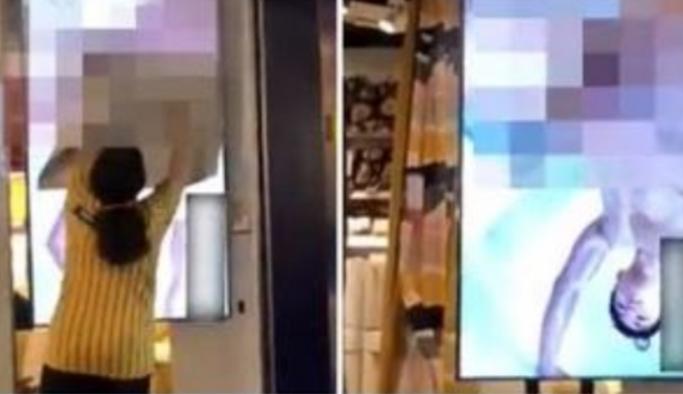 Вработените скокнаа, родителите им ги затвораа очите на децата: Среде преполн салон на екраните пуштија порно-филм