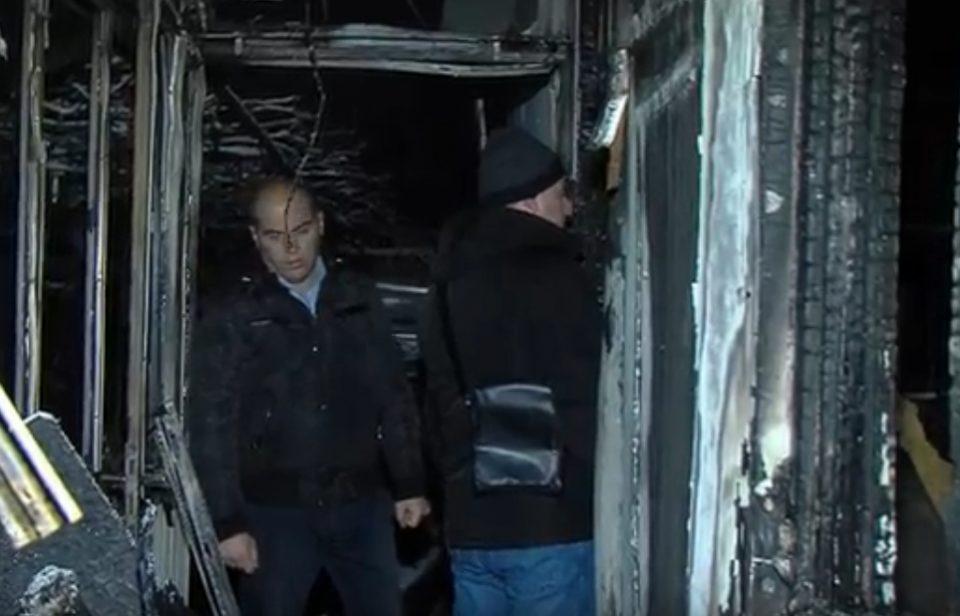 Пожар остави на улица 4-члено семејство со две малолетни деца од Драчево