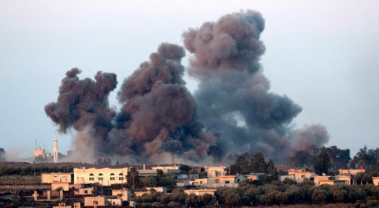 Најмалку 10 загинати при напади во северозападна Сирија