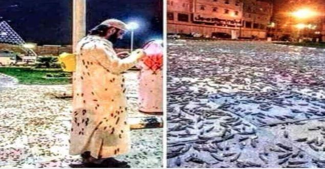 ФОТО: Инвазија на скакулци во Мека