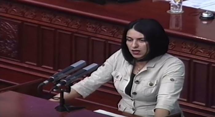 Митовска: Пратеничката група на ВМРО-ДПМНЕ денеска поднесе амандмани за подобрување на текстот на пакетот на предложени закони од социјалната сфера