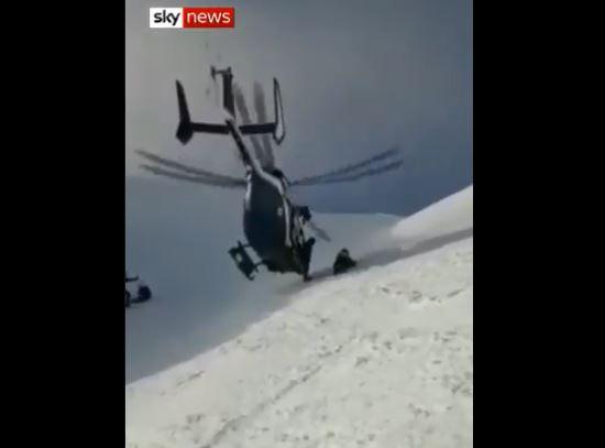Невозможна мисија: Хеликоптерско спасување при снежно невреме (ВИДЕО)