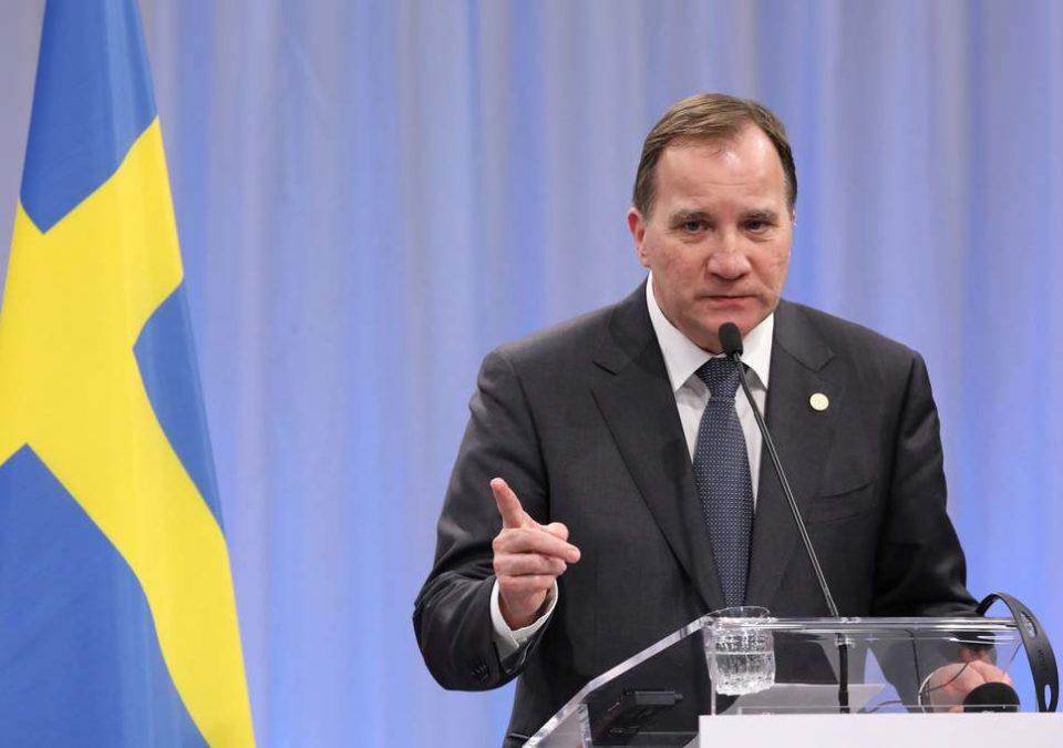 Стефан Ловен реизбран за премиер на Шведска