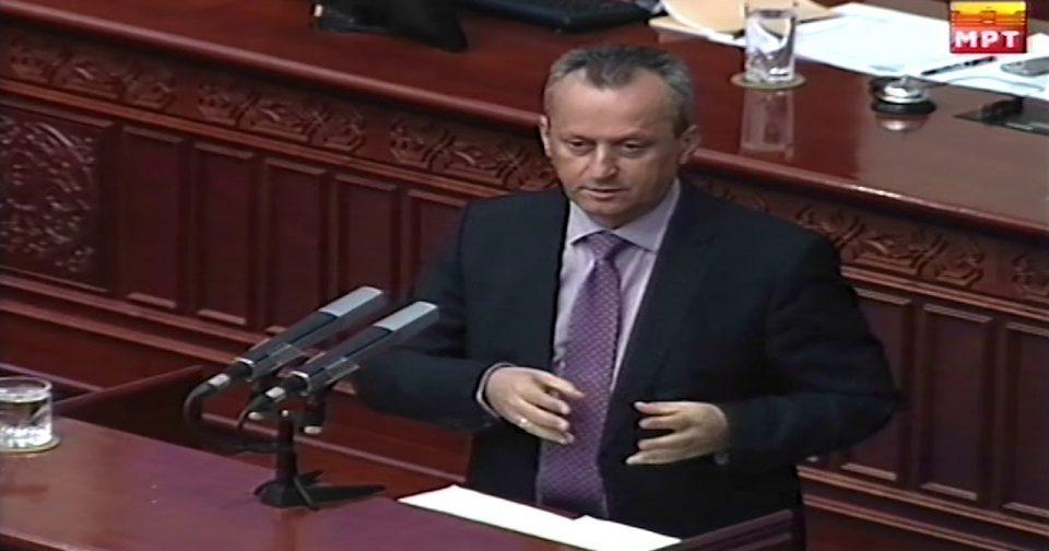 Вељановски: Не е коректно од народниот правобранител да предлага исто лице кое го предложил и претходно, а самото Собрание претходно не го избрал