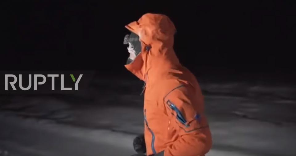 Трчање во Сибир на -60 степени Целзиусови