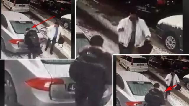 Видео од ликвидацијата: Убиен член на бандата Пинк Пантер денеска во Белград