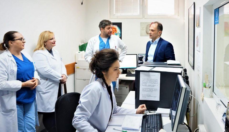 Спасен пациент со мозочен удар со новата комбинирана метода на тромболиза и тромбектомија