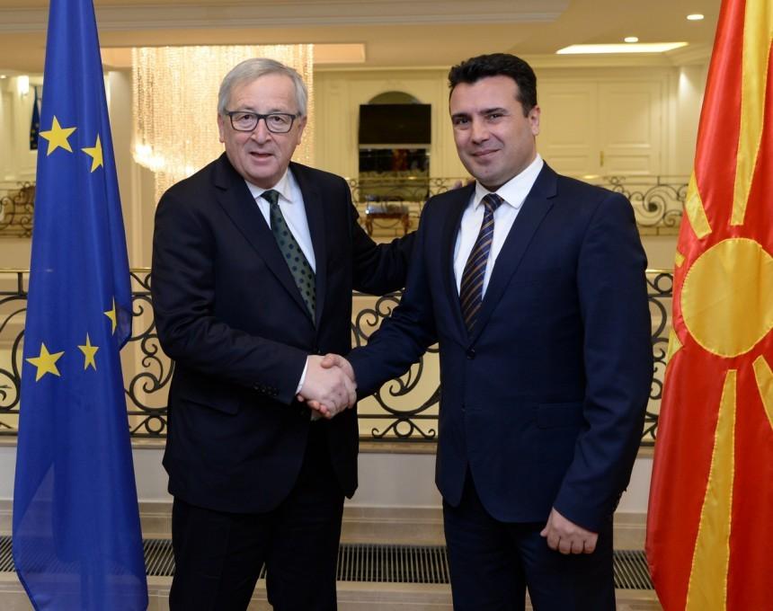 Видеото на Јункер со Заев најголем политички гаф во 2018-та