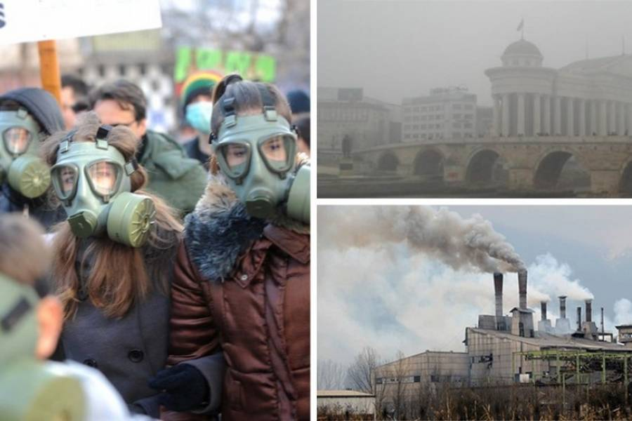 Движење за чист воздух: Утре блокада пред Дрисла, а ќе следува блокада и на цело Скопје