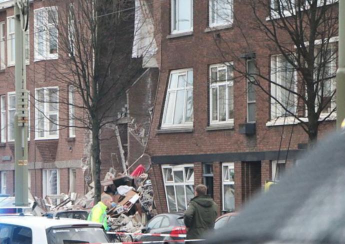 Страшна несреќа во Хаг: 9 лица повредени при експлозијата