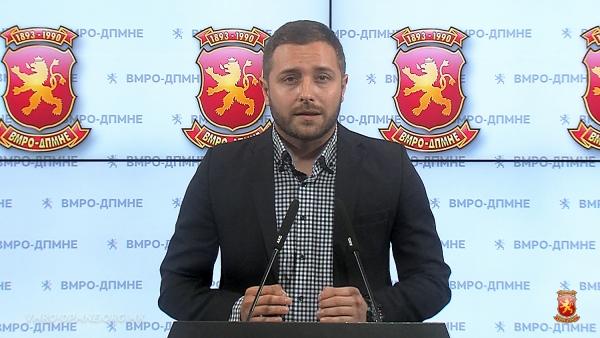 Арсовски: НАТО е стратешка определба на ВМРО-ДПМНЕ— Процесот за исполнување на условите е во голема мера заслуга на ВМРО-ДПМНЕ