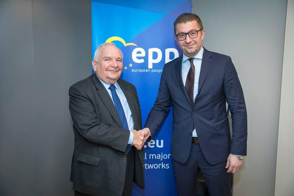 Жозеф Дол по средбата со Мицкоски: Инсистирам на транспарентни и демократски претседателски избори