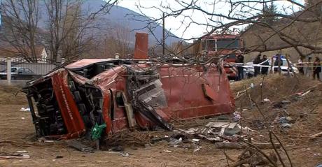 Пожарникар за страшната несреќа: Лазев и молев господ да извлечам што повеќе живи