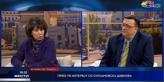 Силјановска- Давкова: Јас ќе се борам да бидам претседател на Република Македонија, како што се распишани изборите