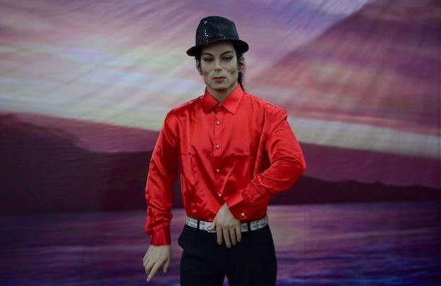 Восочна фигура на Мајкл Џексон отстранета од трговски центар во Копенхаген